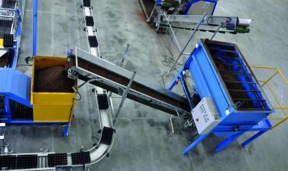Batch Mixer - Sistem de amestecare a turbei cu fertilizanti
